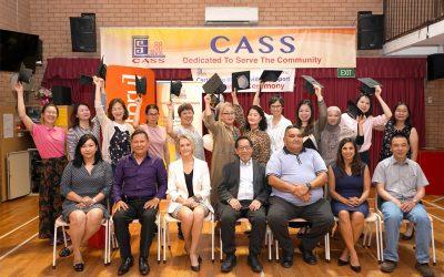 breakthru college celebrates with CASS